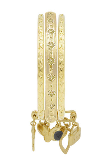 Armband Riviera Lisse Dore Star Goud