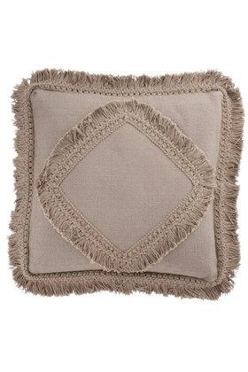 Kissen Fringe Cotton