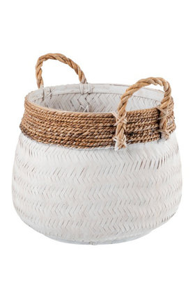 Basket Bamboo Rope S & L