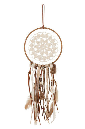 Dreamcatcher Textile Brown
