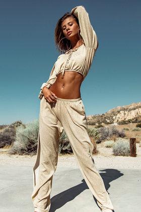 Pantalon Golden Summer Beige