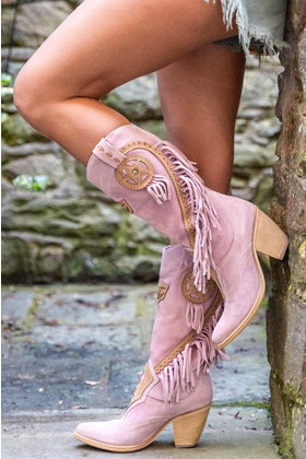 Boots Kathy Dusty Pink