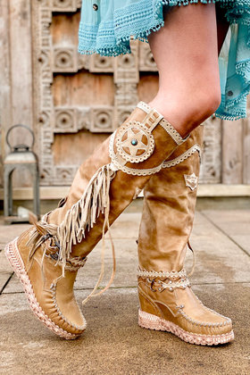 Boots Syria Tribal Camel