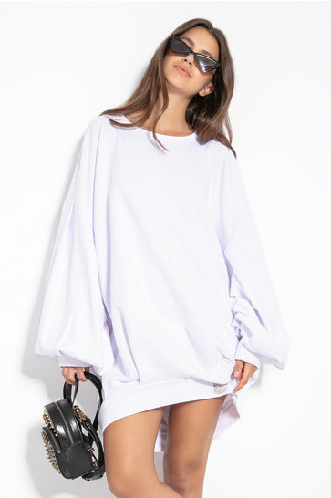 Long Sweater Cozy White