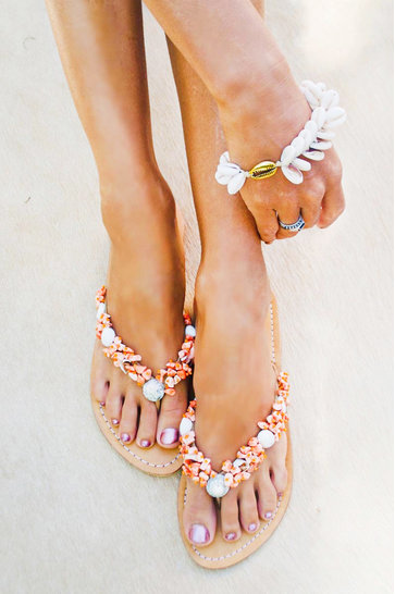Chaussons Leilani Coral