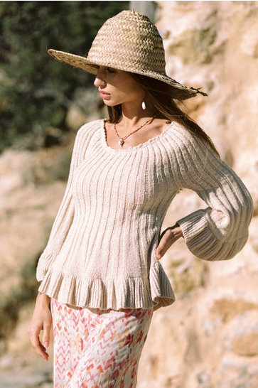 Sweater Alicante Ecru