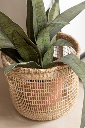 Basket Oasis Seagrass Natural