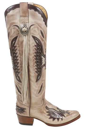 High Boots Sabia Taupe