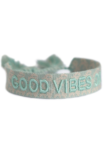 Armband Good Vibes Only Mint
