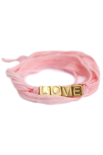 Wickelarmband Love Wrap Hellrosa