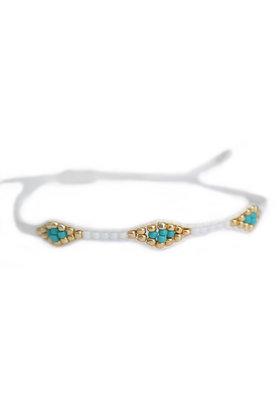Armband Miyuki Ibiza Weiß