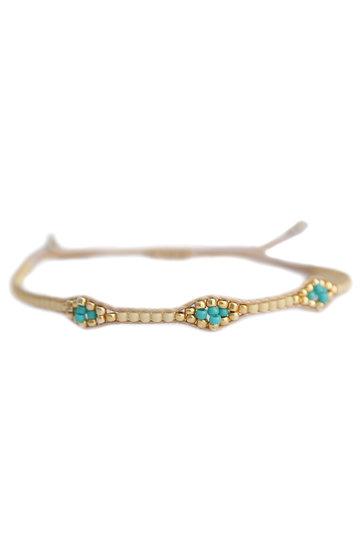 Bracelet Miyuki Ibiza Beige
