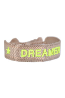 Woven Bracelet Dreamer Beige