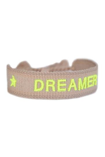 Gewebtes Armband Träumer Beige