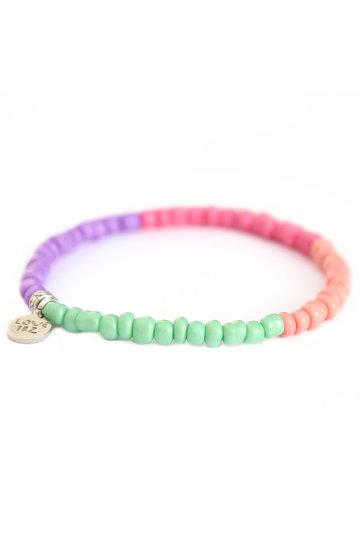 Armband Inka Pastellfarben