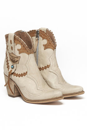 Maeve Trival Boots Ivory