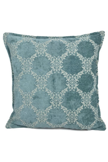 Throw pillow Baroque Vintage Mint 45x45cm