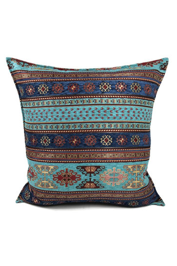 Throw pillow Peru Turquoise Blue 70x70cm