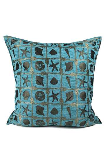 Throw pillow Beach Turquoise 70x70cm