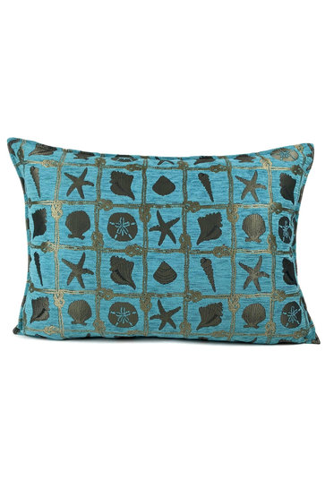 Throw pillow Beach Turquoise 50x70cm