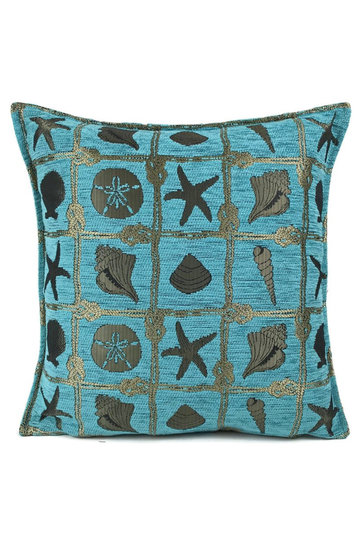 Throw pillow Beach Turquoise 45x45cm