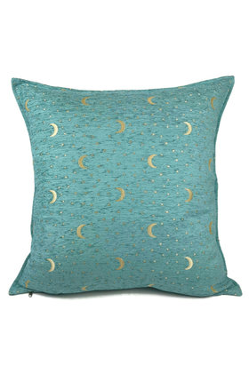 Throw pillow Stars And Moons Pastel Turquoise 70x70cm