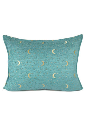 Throw pillow Stars And Moons Pastel Turquoise 50x70cm