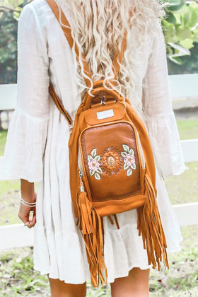 Backpack Harmony Cognac