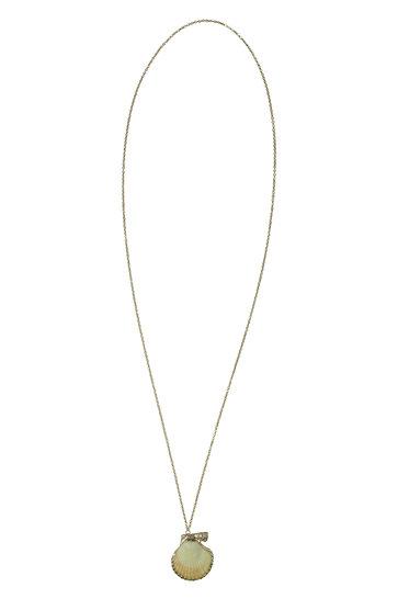 Halskette Capri Long Yellow