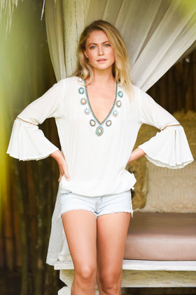 Blouse Blue Marlin Ivory