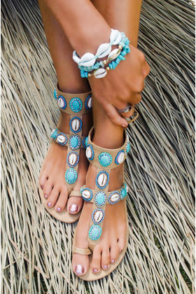 Sandals Blue Marlin Turquoise