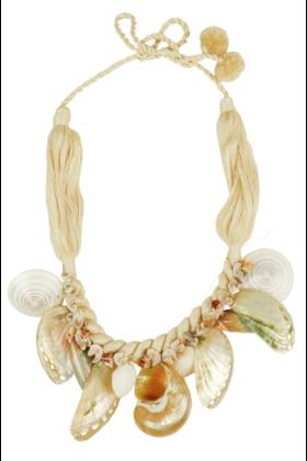 Halskette Tahira Weiß