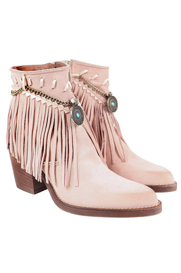 Ankle boots Dallas Light pink