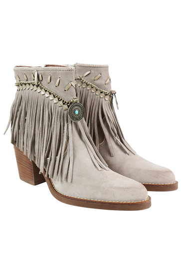 Ankle boots Dallas Light gray