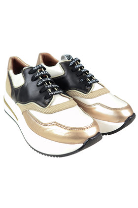 Sneakers Sporty Goud