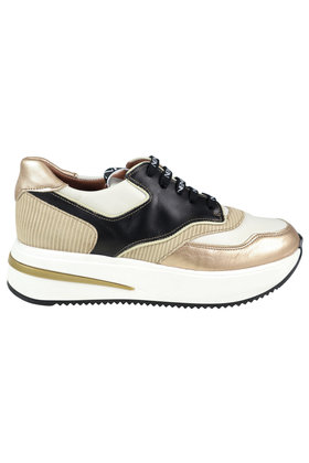 Sneakers Sporty Gold