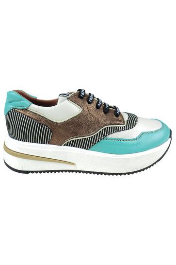 Baskets Sporty Turquoise