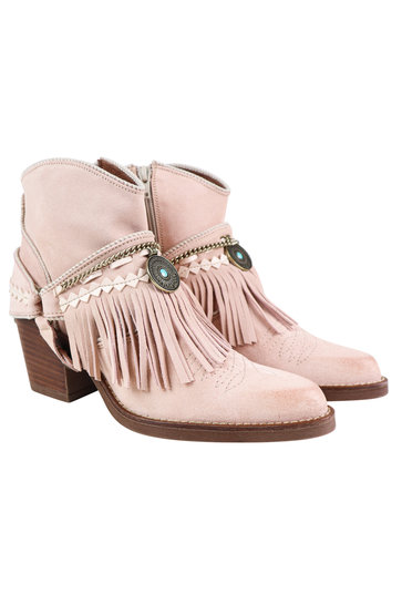 Ankle boots Dallas Dior Light pink