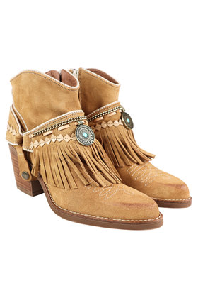 Ankle boots Dallas Dior Camel