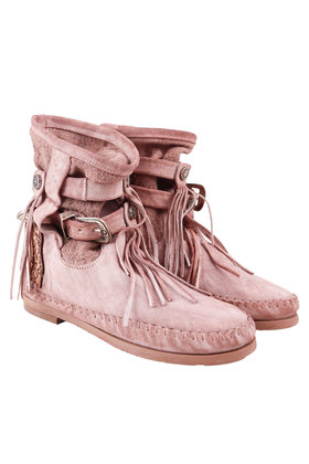 Ankle boots Stivali Donna Yuta Old Pink