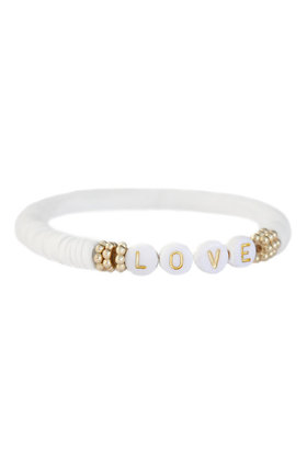 Armband Summer Love Wit