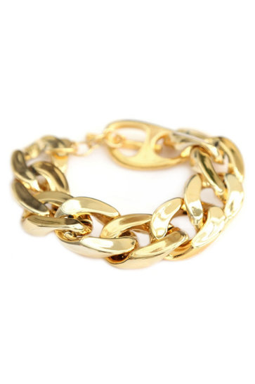 Armband Large Chain Goud