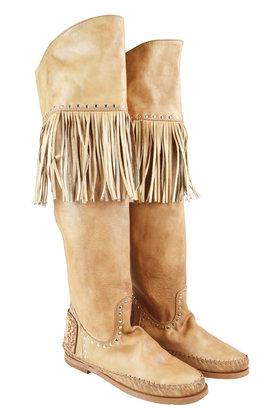 Wild Vintage Camel Boots