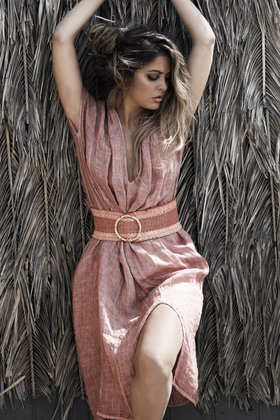 Robe longue Alice Indian Red
