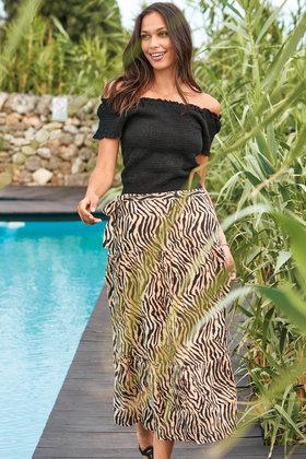 Maxi Skirt Melissa Audry Beige