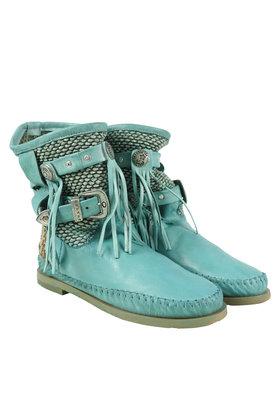Ankle boots Stivali Donna Franjes Aqua