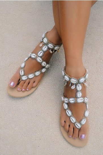 Sandals Antibes Silver