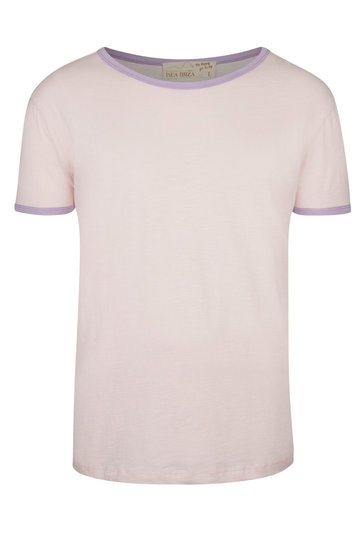 T-shirt Homme Lilas Rose Clair