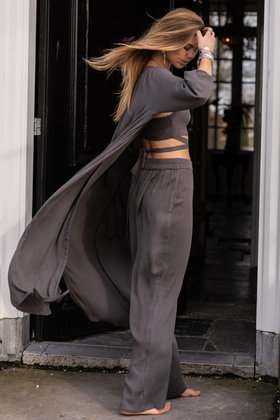 Trousers Amora Anthracite