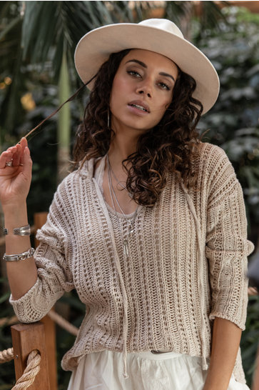 Knitted Sweater Musa Beige